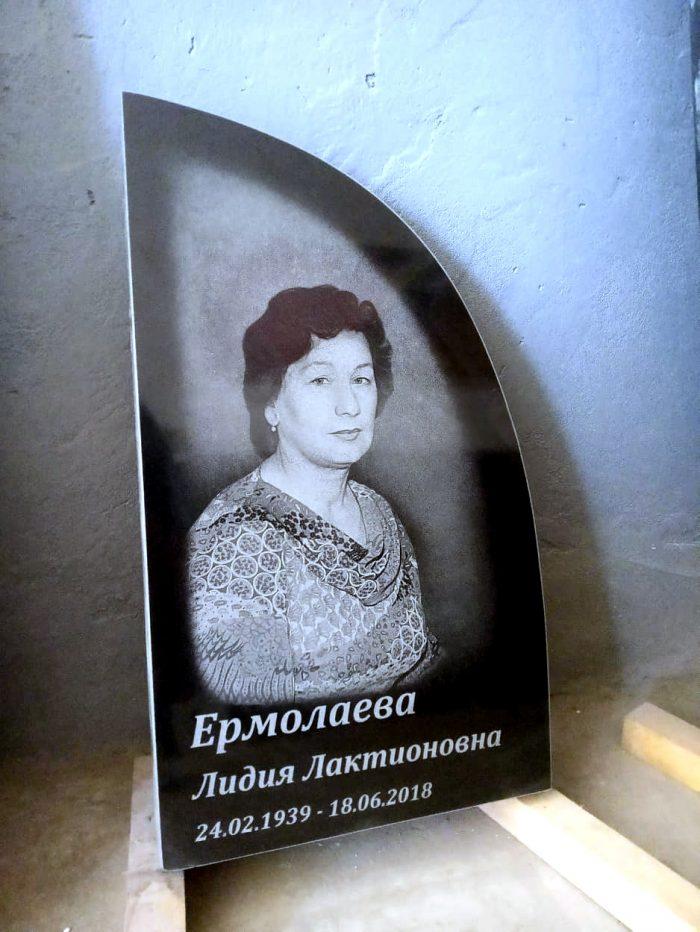 портрет для памятника на всю плиту в луцьку